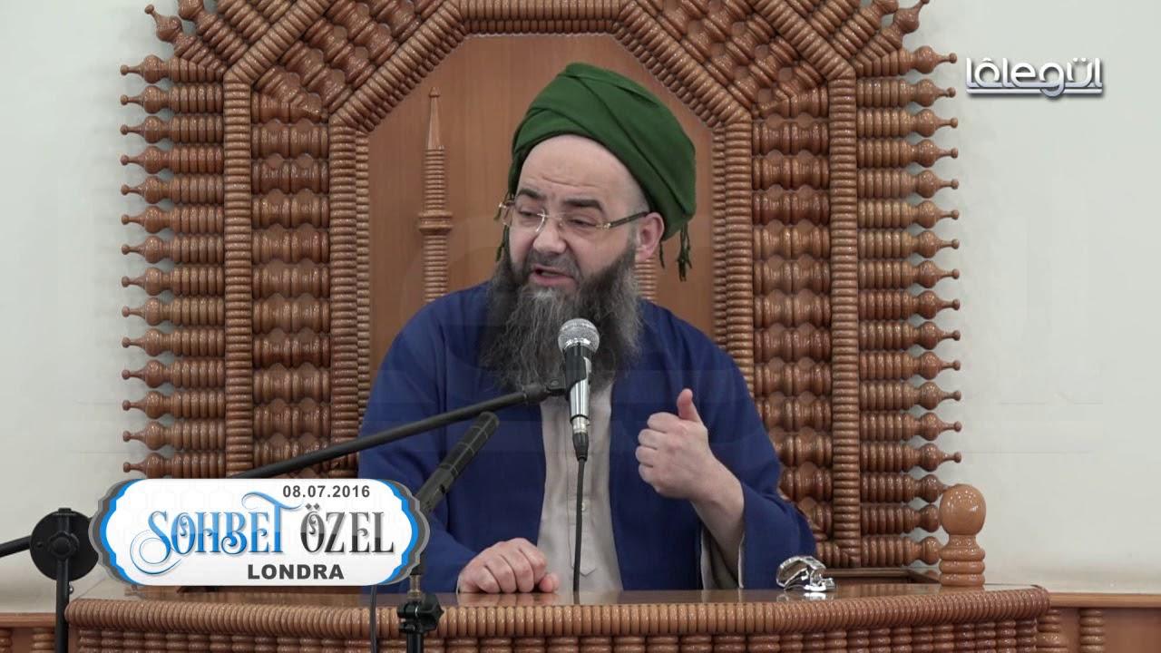 8 Temmuz 2016 Tarihli Londra Sohbeti - Cübbeli Ahmet Hoca Lâlegül TV