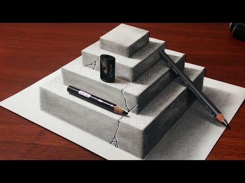 How To Make 3d Concrete Pyramid