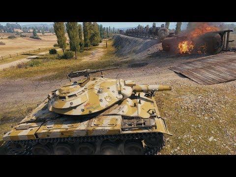 World of Tanks T49 15k spot in 5 min ?!?!?! - Prokhorovka