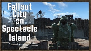 SPECTACLE ISLAND Fallout 4 - ULTIMATE CITY BASE BUILDING