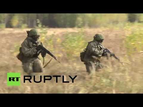 Anti-ISIS drills: Russian Special Forces fight 'Islamic terrorists'