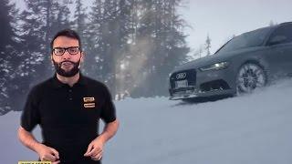 Audi RS6: sale e scende davvero dalle piste da sci?