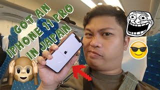 Gambar cover BOUGHT AN IPHONE 11 Pro IN JAPAN