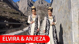 Elvira Fjerza & Anjeza Ndoj - Ku po shkoni djemt e ri ( Official Video 4K )