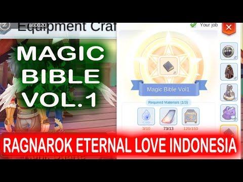 UNLOCK MAGIC BIBLE VOL 1 RAGNAROK ETERNAL LOVE INDONESIA