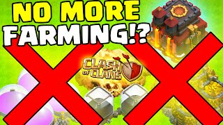 """Clash of Clans [NEW UPDATE: SNEAK PEAK! """"NO MORE FARMING BASES!?"""" NEW SHIELD & ATTACK FAIL!]"""