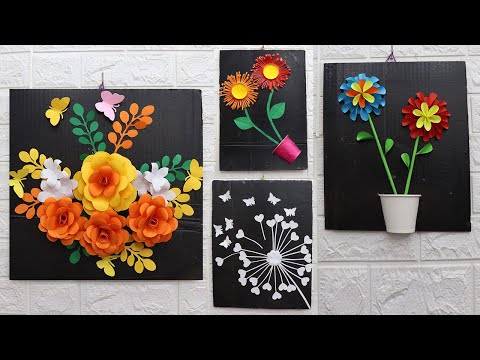 5-wall-hanging-craft-ideas-simple-with-paper,-wall-hanging-painting