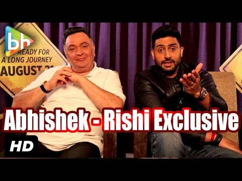 Exclusive: Abhishek | Rishi Kapoor's Full Interview On 'All Is Well' | 'Oh My God!' | Umesh Shukla