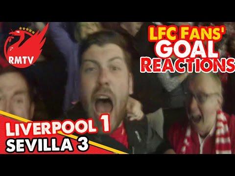 Liverpool 1-3 sevilla   sturridge scores a screamer   europa league final cam