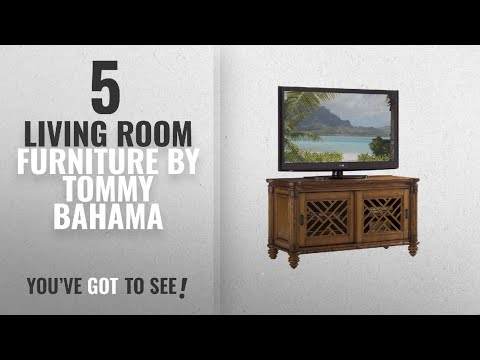 Top 10 Tommy Bahama Living Room Furniture [2018]: Island Estate - Grand Bank Media Console