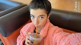 CHARLI D&#39AMELIO TIKTOK VLOGS  PART 1  Lots of coffe and flying to HAWAII!!