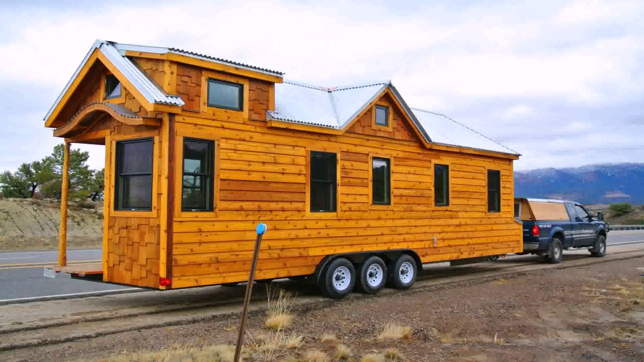 tiny house on wheels for sale in michigan youtube rh youtube com