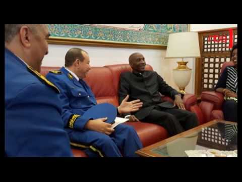 Gen Kale Kayihura in Algiers over AFRIPOL Implementation