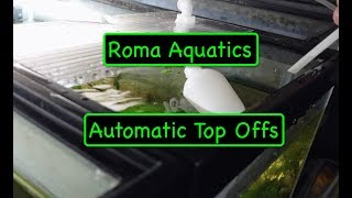 Automatic Aquarium Water Top Off - How To - Start of Maintenance Free Room - Float Valves and RODI🆒 thumbnail