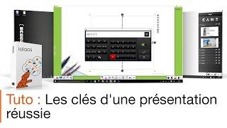 Tutoriel écran interactif : présenter un cours avec le logiciel pour écran interactif Iolaos