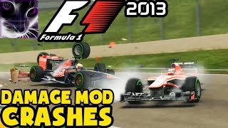 F1 2013 - Crash Compilation #1 (NEW 2014)