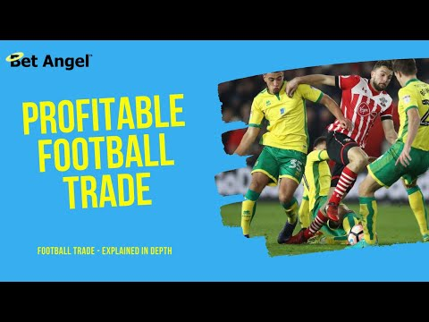 Peter Webb - Bet Angel - Betfair Trading - A Simple Football Trade, Explained In Depth