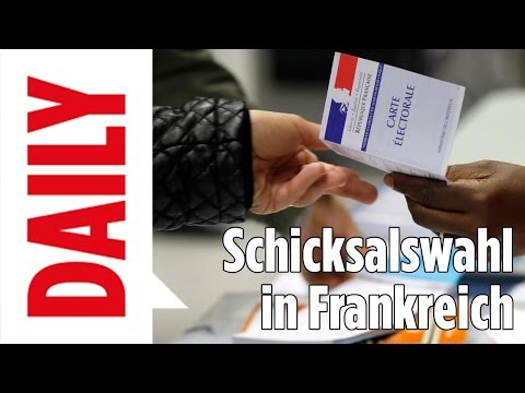 Wahl in Frankreich / Macron oder Le Pen? - BILD Daily Spezial live 07.05.17