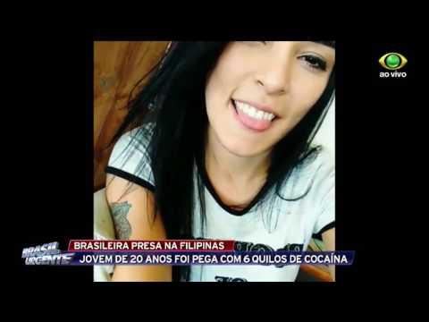 Brasileira é presa nas Filipinas