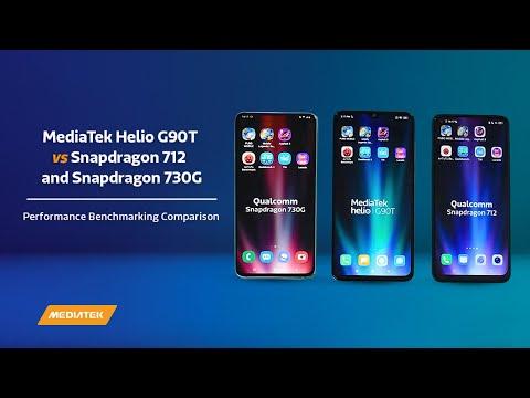 MediaTek Helio G90T Vs Snapdragon 712 And Snapdragon 730G | Performance Benchmarking Comparison