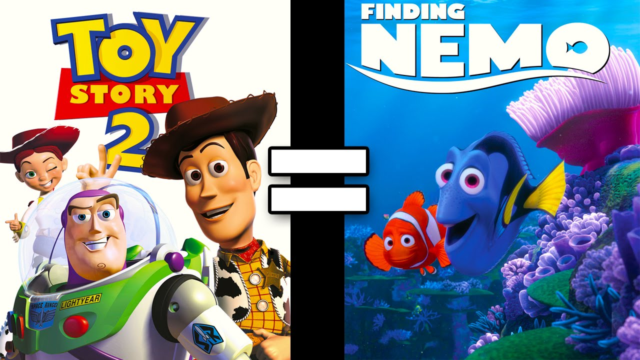 24 Reasons Toy Story 2 Finding Nemo Are The Same Movie