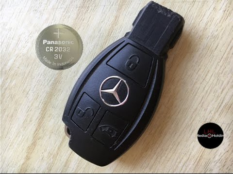 Battery replacement mercedes benz 3rd gen fob remote key for Replacement key mercedes benz