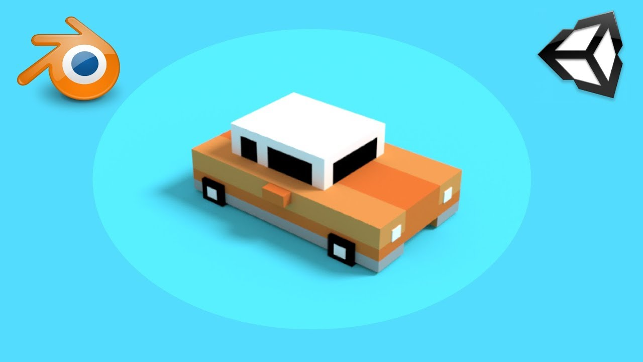 Blender 3D Modeling For Unity Game Development - Complete Tutorial 2017