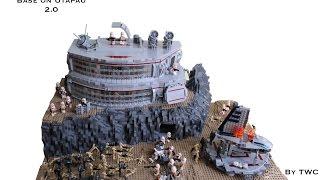 LEGO Star Wars Force Awakens Base on Utapau