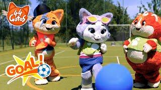 44 Gatos   Latinoamérica   ¡Juguemos al fútbol con los Buffycats!