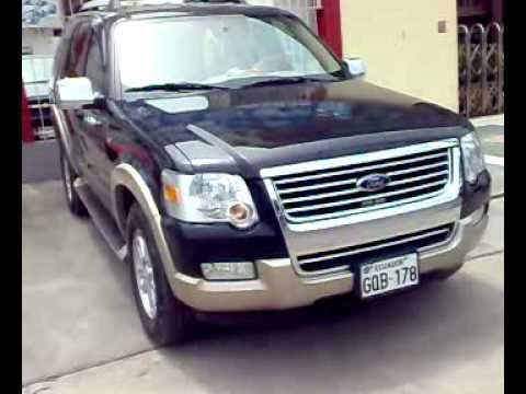Autos Usados Ecuador Venta Ford Explorer Eddie Bauer