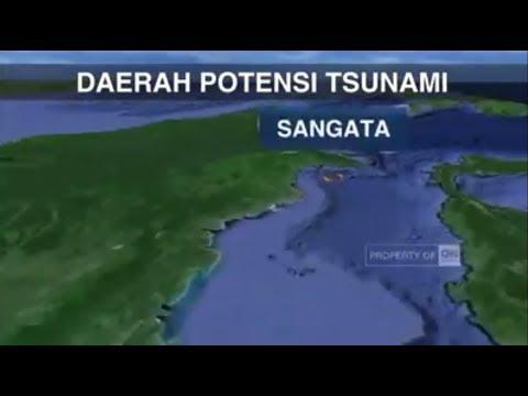 Sangatta Rawan Gempa Dan Tsunami