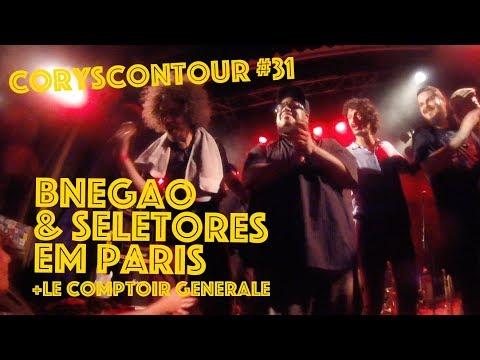 CoryscOnTour #31 - BNegão & Seletores em Paris + Le Comptoir Generale