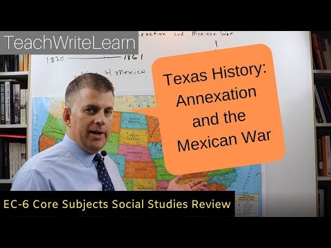 Texes EC-6 Core Subjects Social Studies: Texas History, Part 6