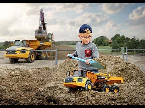 Volvo Construction Equipment - Volvo A60H Kids Toy - Articulated Hauler