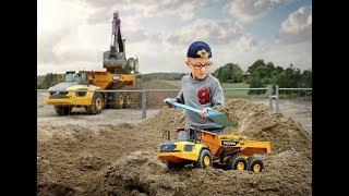 Будівельної техніки Volvo - Вольво A60H дитячі іграшки - зчленований самоскид