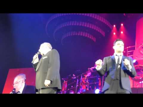 Do Nothing Till You Hear From Me By Robbie Williams  And His Dad Berlin 28th May 2014