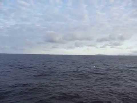 Fair Isle & Sumburgh Head Shetland seen from Aberdeen ferry ...
