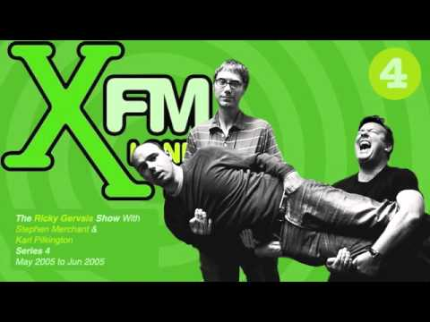 XFM The Ricky Gervais Show Series 4 Episode 5 - Are you trying to sleep on Tottenham Court Road?