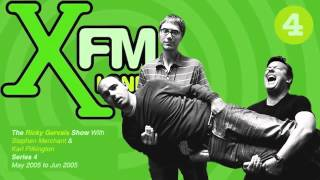 Video XFM The Ricky Gervais Show Series 4 Episode 5 - Are you trying to sleep on Tottenham Court Road? download MP3, 3GP, MP4, WEBM, AVI, FLV September 2018