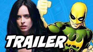 Jessica Jones Official Trailer Breakdown and Marvel Iron Fist Easter Eggs