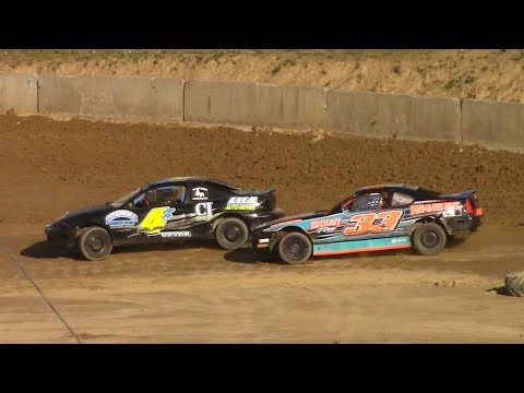 Mini Stock Heat One | Old Bradford Speedway | 6-11-17