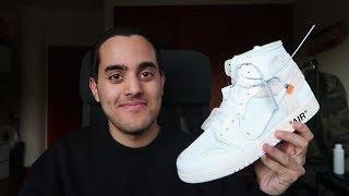 "Review: Off White x Air Jordan 1 ""Parte 2 Exclusivo Europa"""