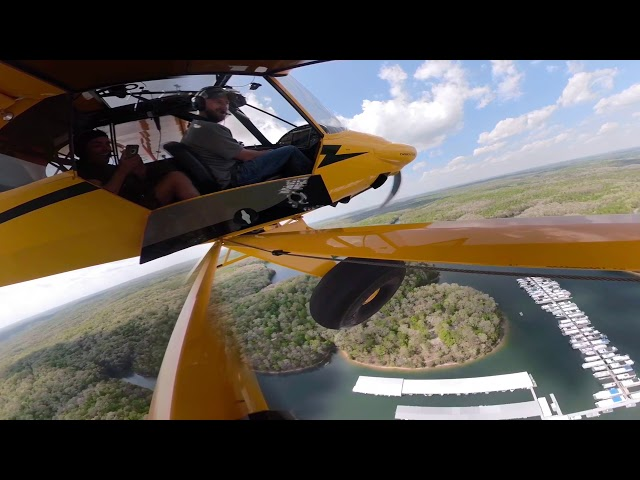 Carbon Cub first flight.