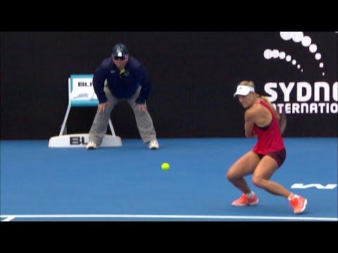 Dominika Cibulková v Angelique Kerber Match Highlights (QF)   Sydney International 2018