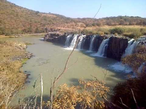 Waterfall - Hart Hill Falls - Tugela River - Top of the Falls - Colenso