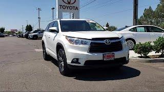 2016 Toyota HIGHLANDER Sport Utility XLE V6 Sacramento  Roseville  Elk Grove  Folsom  Woodland