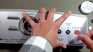 Conserto Lavadora Brastemp Ative 9kg - botões não funcionam