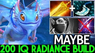 MAYBE [Puck] 200 IQ Radiance Hard Counter Build 7.22 Dota 2