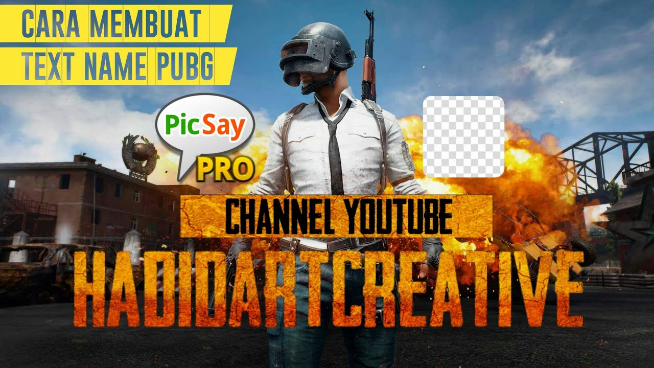 Cara Membuat Nama Seperti Logo Pubg - Picsay Pro #1