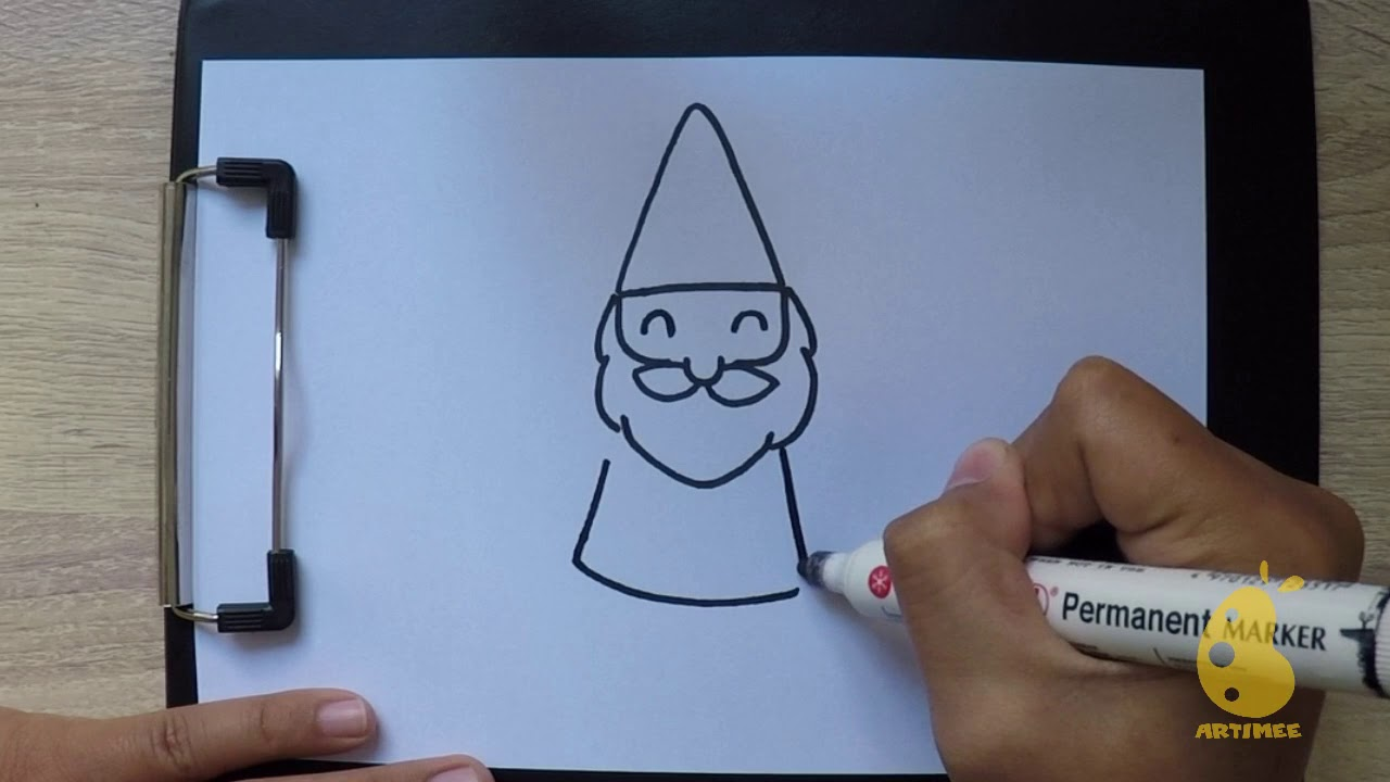 How To Draw Gnome Youtube